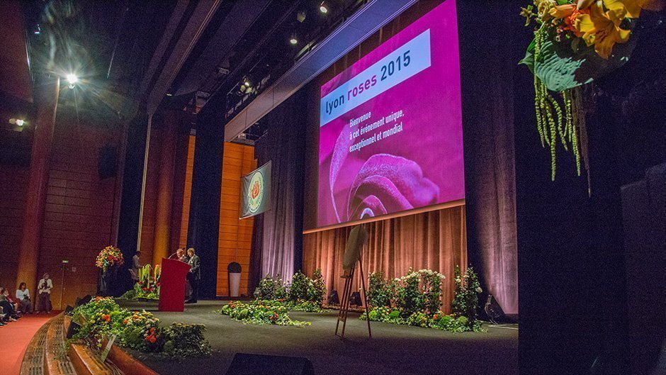 Ouverture du Congrès Mondial des Roses